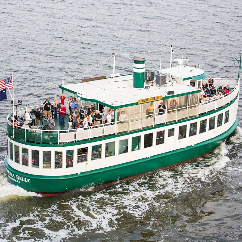 The Official Charleston Harbor Tours