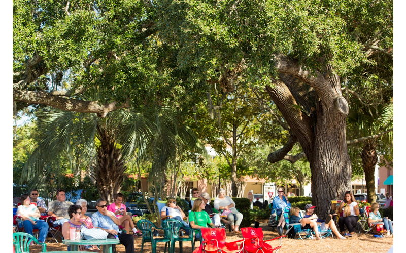 Live Under the Oaks - Performance by Jared Petteys and the Headliners